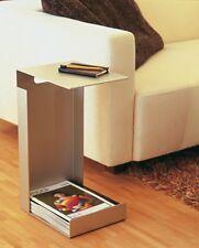 Jan Kurtz HOCHSTAPLER Zeitschriftentisch  Zeitschriftensammler Aluminium 480102