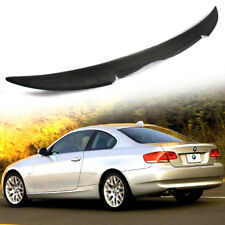 NEW Carbon For BMW E92 Coupe 3-Series M4 Look High Kick Trunk Spoiler 2013
