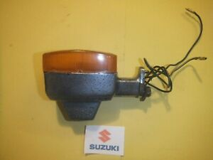 SUZUKI GS125 GS 125 D FRONT RIGHT HAND SIDE INDICATOR RIGHT WINKER 1982 -1987