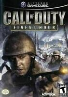 Call of Duty Finest Hour - Authentic Nintendo GameCube Game