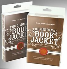 More details for the original book jacket tan suede brand new. dress books in style. adjustable