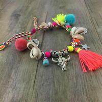 Hippie Ankle Bracelet Charm Anklets Boho Gypsy Bohemian Foot Feet Chain Women