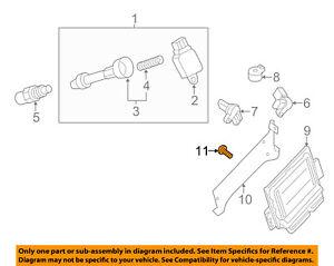 NISSAN OEM Ignition-Ecm Screw 0145600031
