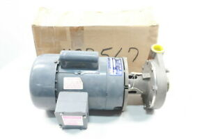 Price Pump SC100-33 Stainless Centrifugal Pump 1in 1-1/4in 1/2hp 115/230v-ac