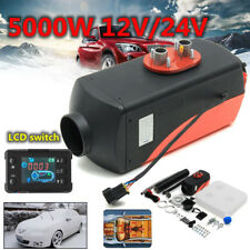 12V 5000W LCD Monitor Air diesel Fuel Heater 5KW PLANAR for trucks,boats,bus,Car