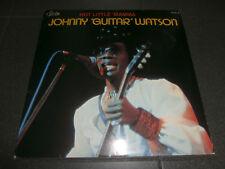 "JOHNNY ""GUITAR"" WATSON Hot Little Mama LP Belgium Press FUNK Soul BLUES"