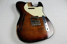 MJT Official Custom Vintage Age Nitro Guitar Body Mark Jenny VTL Flame  3lbs 9oz
