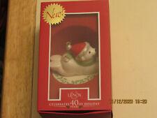 Lenox Polar Bear Exprress Ornament - New in Box