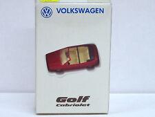 """VW Golf Cabrio in rot """"da weiß man, was man hat"""" mit OVP, AutoMuseum Volkswagen"""
