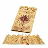 Harry Potter Style Marauders Map Platform Ticket Cosplay Wizarding World Gifts