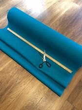 Deluxe Turquoise Hessian Fabric Fine Weave Quality Jute Burlap Craft Upholstery
