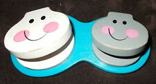 Wooden Happy Face Toilets with Movable Seats by Melissa & Doug Kids Preschool