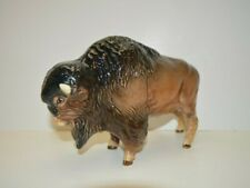 Vintage Sylvac Western Buffalo / Bison Figurine Made in England