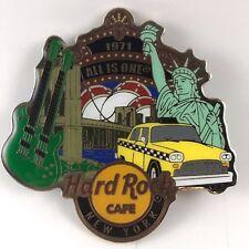 Hard Rock Cafe New York city magnet cool design Brooklyn Bridge NY Taxi cab