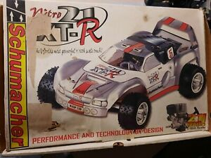 RC CAR Schumacher Nitro 21 XT-R,3 Speed Vintage Rare 1/10 w/ thunder tiger 21