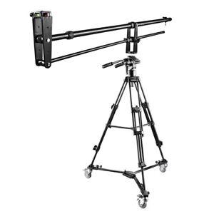 walimex pro Kamera Kran Set Director Pro II, Kran + Stativ + Stativwagen