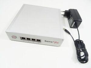 beroNet berofix 0400 Box ISDN VOIP Gateway 2 Stück BF4S0 + Rechnung 19% MwSt