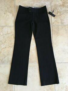 BANANA REPUBLIC the sloan fit black pants size 4