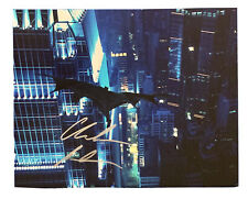 CHRISTIAN BALE Original Signed Autographed 8x10 BATMAN Film Photo COA 08
