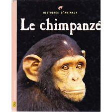 LE CHIMPANZE / histoires d'animaux nombreuses PHOTOS et dessins babouin 1998