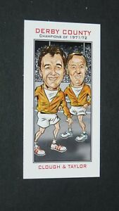 PHILIP NEILL CARD FOOTBALL 2007 CHAMPIONS 1971-1972 DERBY RAMS CLOUGH TAYLOR