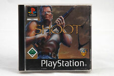 Shoot (Sony Playstation 1/2) PS1 Spiel in OVP, PAL, CIB, TOP, SEHR GUT