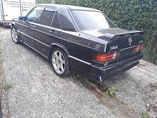 Mercedes Oldtimer 190e 2,3-16V ,kleiner EVO,EZ 1987 schwarz,Leder schwarz,eSSD !