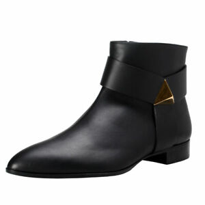 Giuseppe Zanotti Homme Men's Leather Ankle Boots Shoes Sz 6 8 8.5 9 9.5 10 11 12