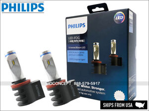 NEW! PHILIPS H8 H11 H16 X-treme Ultinon LED Car Fog Light White 6500K 12794UNIX2
