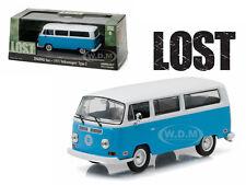 "1971 VOLKSWAGEN TYPE 2 T2B ""DHARMA"" VAN LOST TV SERIES 1/43 BY GREENLIGHT 86471"