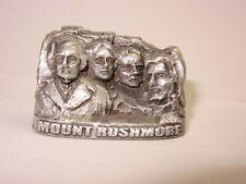 Vintage Mount Rushmore Superb Pewter Figure Souvenir