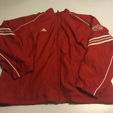 Music City Bowl Nashville TN College Football Red Adidas Track Jacket XL 52""
