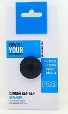 Shimano Pro Gap Cap Expander 25mm w/ UD Carbon Top Cap for 1-1/8 Carbon Steerers
