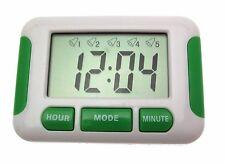 Digital Temporizador de Cocina Temporizador de Cocina Digital 5 Alarmas Temporizador Digital
