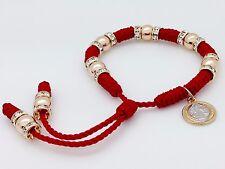 Pulsera Roja Con Medalla De San Benito Hecha A Mano Para Proteccion De Todo Mal