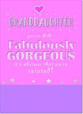 Doodlecards Granddaughter Card - Medium