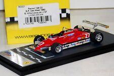 FERRARI 126 C2 US GP 1982 #27 G. VILLENUEVE BBR BG321 LIM. 200 PCS 1/43