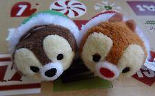 Disney Store Christmas 2016 Chip & Dale Tsum Tsum Advent Calendar Mini Plush