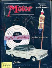 The Motor Magazine October 29 1958 Consul De Luxe 5-Star Motoring VGEX 121915jhe