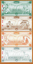 South Africa ORANIA 4 Matching S/N 10 to 100 Ora Series A 3810 UNC