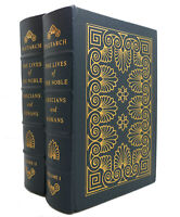 Plutarch THE LIVES OF THE NOBLE, GRECIANS AND ROMANS, VOL. 1 - 2 Easton Press 1s