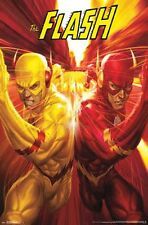 THE FLASH - RACE COMIC POSTER - 22x34 DC COMICS 14665