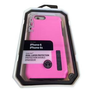 iPhone 6s Case Slim Pink Charcoal  - Incipio Dual Layer Premium soft-touch Case