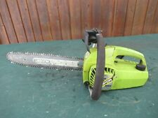 "Vintage POULAN MICRO SUPER XXV DELUXE Chainsaw Chain Saw with 14"" Bar"