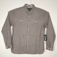 NWT Billabong Men's Premium Quality Long Sleeve Shirt 100% Cotton Size Large