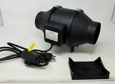 "TOPHORT 4"" Inline Duct Fan - 110V 200CFM - w/ Variable speed Controller"