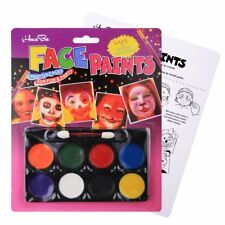Face Paint Kit Non Toxic Body Painting Set 8 Vibrant Color