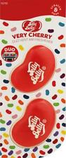 1 x Twin Pack 3D JELLY BELLY Vent DUO Bean Sweet Gel Air Freshener VERY CHERRY