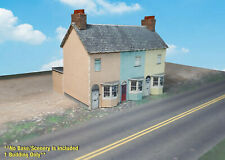 Z Scale Building - UK Style Terraced House (Cover Stock PRE-CUT Paper Kit) BIZ5