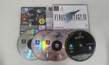 Final Fantasy VII 7 PS1 Game PAL